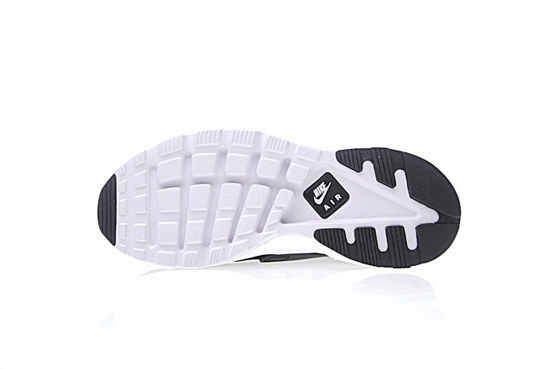 731805f57b5c ... Nike Air Huarache Ultra Flyknit ID Black White Sneakers 829669-001 ...