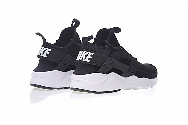 16a4139e1877 Nike Air Huarache Ultra Flyknit ID Black White Sneakers 829669-001 ...