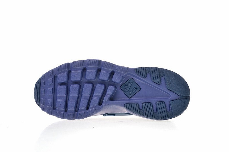 Nike Air Huarache Ultra Suede ID Navy Blue Athletic Shoes 829669 332