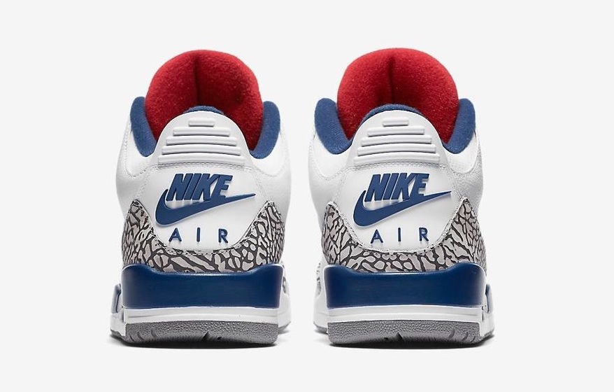 promo code 1d2aa 324d9 Nike Air Jordan III 3 Retro True Blue White Men Shoes 854261-106