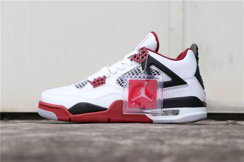 sale retailer b73c7 d0808 Prev Nike Air Jordan 4 Retro OG Fire Red White ...