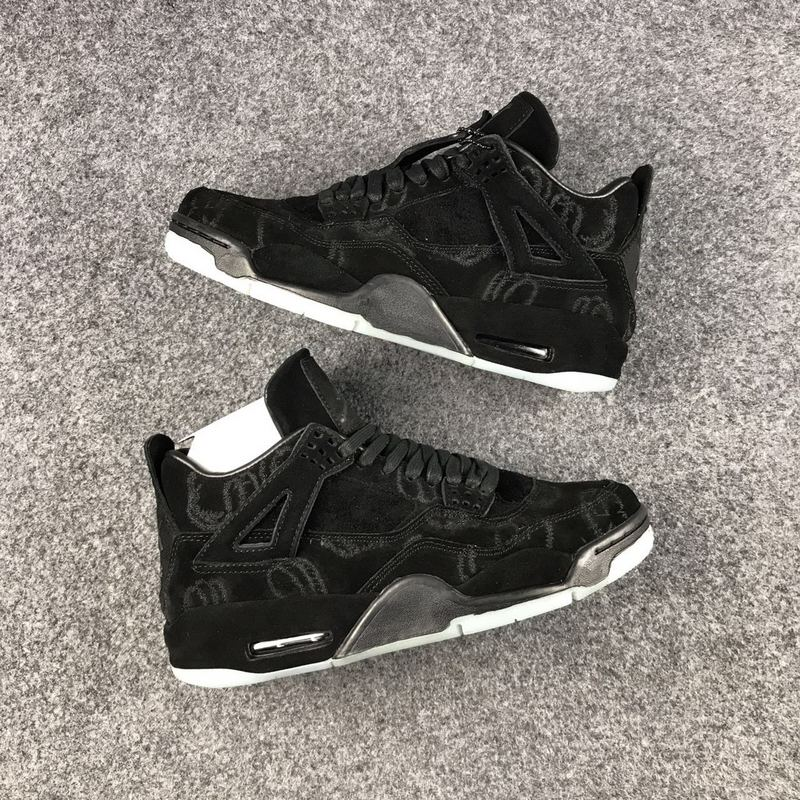 69852700da7 Nike Air Jordan IV 4 KAWS x Air Jordan 4 Sample Men Basketball Shoes ...