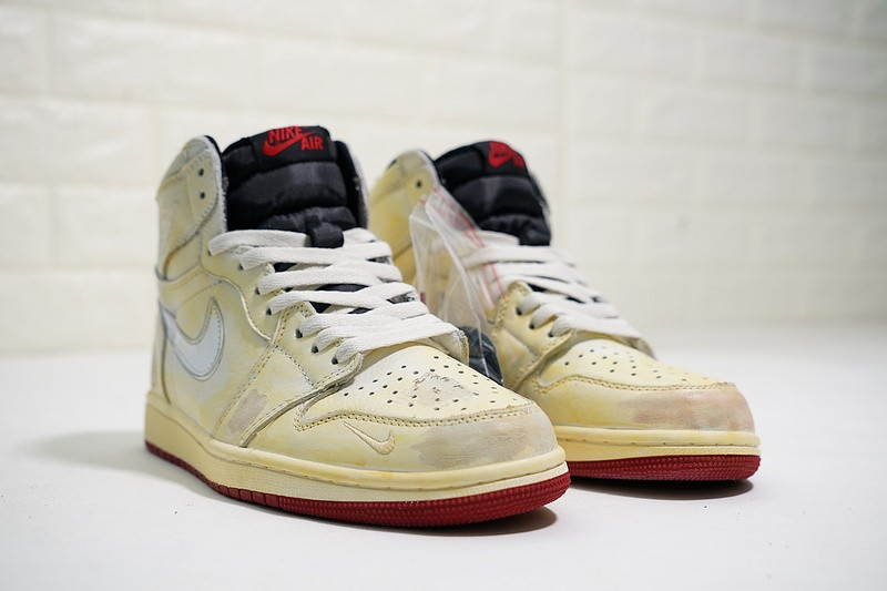 uk availability 9fadd b6655 Nigel Sylvester x Nike Air Jordan 1 Retro High OG Sail Varsity Red Reflect  Silver White BV1803-106