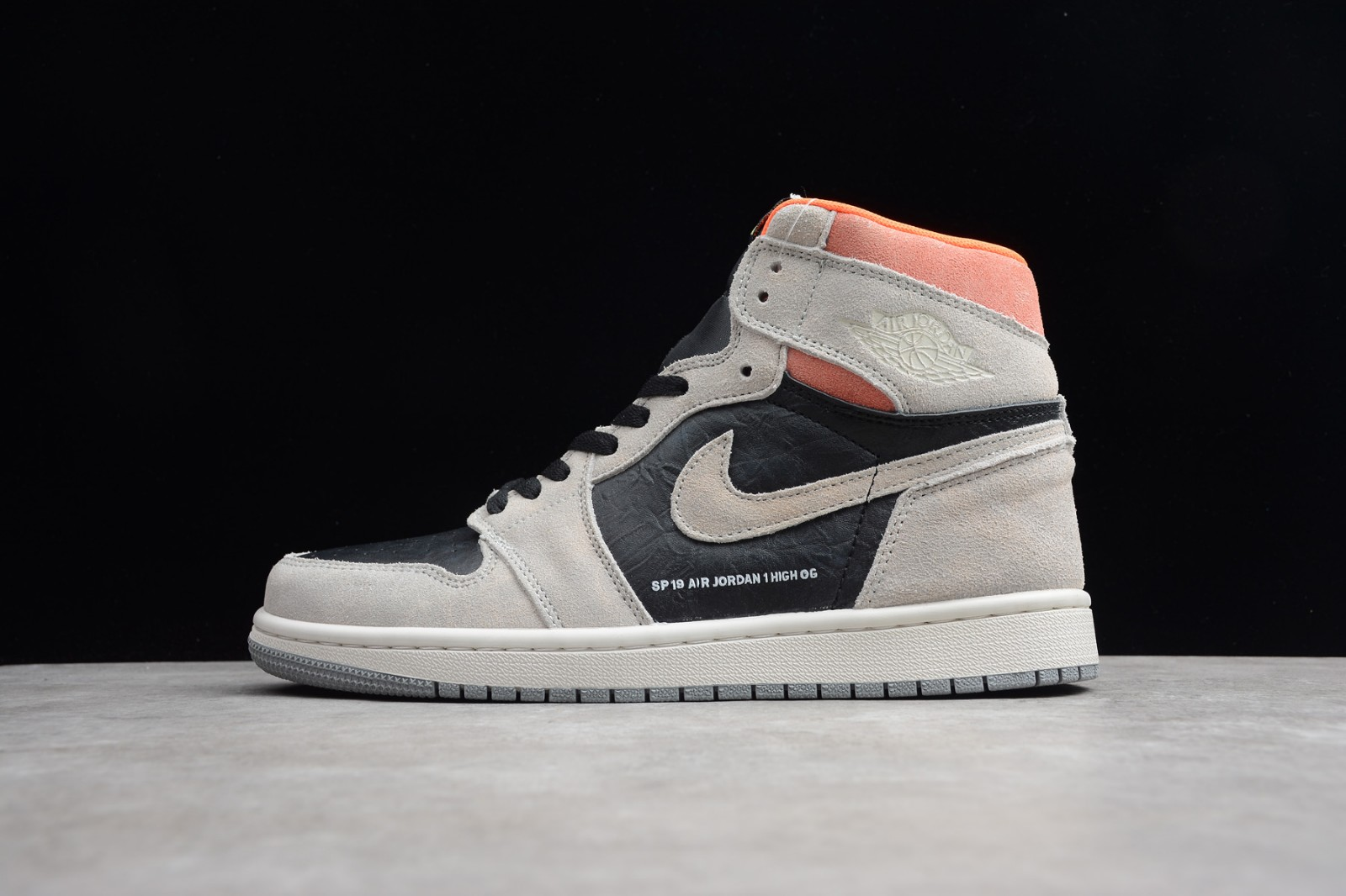 san francisco c4452 c37c5 Prev Nike Air Jordan 1 Retro High OG Neutral Grey Hyper Crimson 555088-018