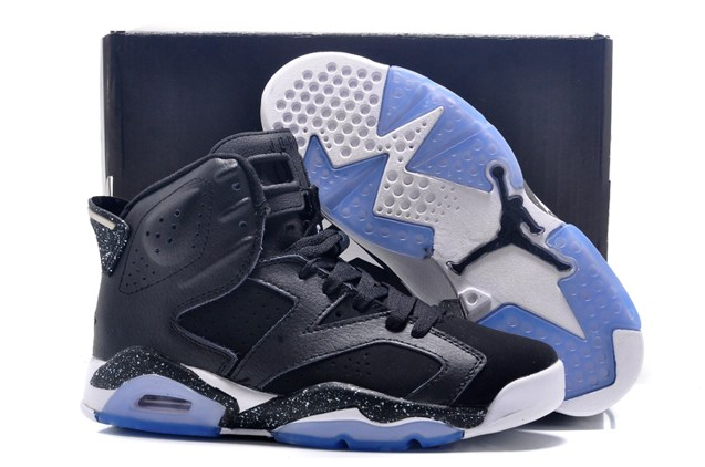 9c05fc8d7541d5 Move your mouse over image or click to enlarge. Next. CLICK IMAGE TO  ENLARGE. Nike Air Jordan VI 6 Retro BLACK ...