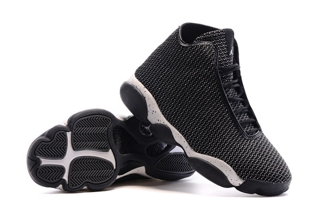 823581-012 BLACK//CEMENT GREY Mens AIR JORDAN HORIZON MENS BASKETBALL SHOE
