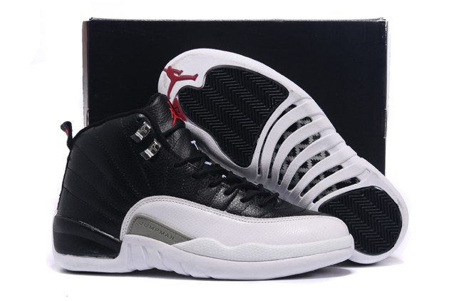 9fbee94ea46 Prev Nike Air Jordan 12 XII Retro Men Basketball Shoes White Black 130690  001. Zoom