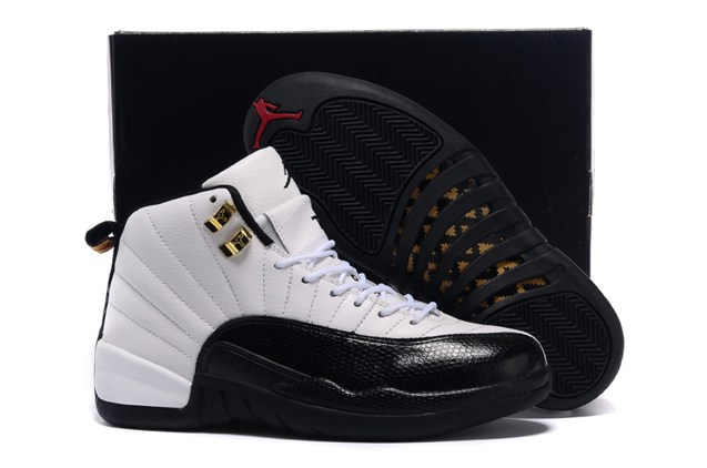 0ddb427f2c1822 Prev Nike Air Jordan XII 12 Retro White Black Taxi Red Men Shoes 130690 125