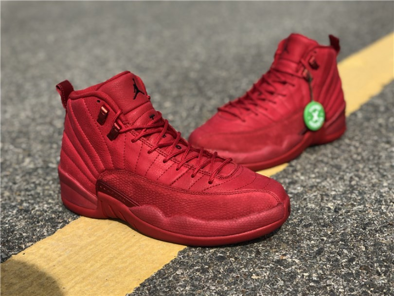 77c777cf Nike Air Jordan 12 Retro Bulls Gym Red 130690-601 - Sepsport
