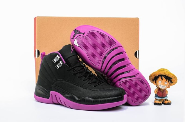 c3aa0b7f136 Prev Nike Air Jordan 12 XII Retro GG Hyper Violet Kings Purple GS Women  Shoes 510815-. Zoom. Move your mouse over image or click to enlarge
