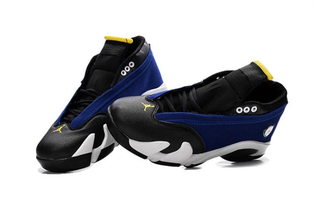 meet 23cd8 a4e10 Nike Air Jordan 14 Retro Low Laney Varsity Royal Varsity Maize Black 807511  405