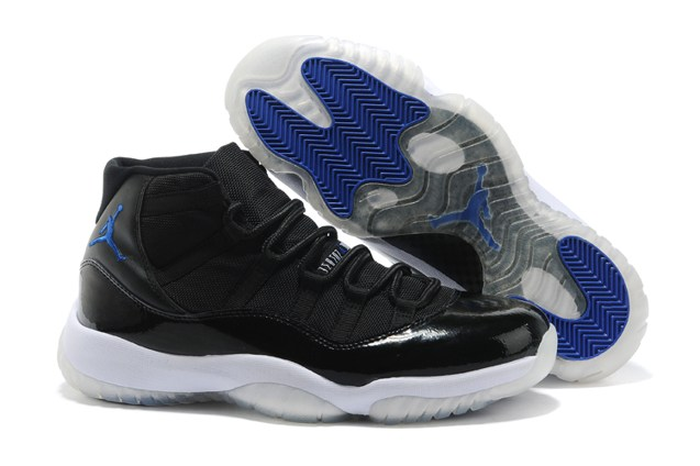 the latest 6db3c bee03 Prev Nike Air Jordan XI 11 Retro Black Royal White Space Jam 378037 041.  Zoom