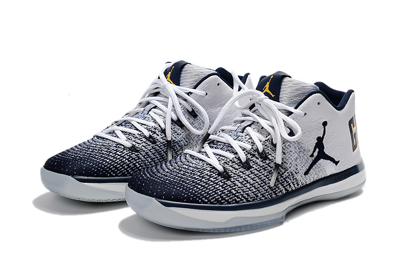 half off d3d4c e1ed8 NIKE AIR JORDAN XXXI LOW California white Blue MEN BASKETBALL SHOES