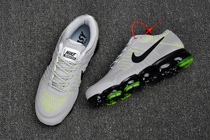 new products 09e72 9f7eb Nike Air Max 2018 Running Shoes KPU Men Grey Green 849558-015