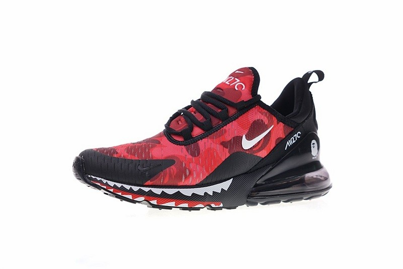 nike air max 270 camouflage rot