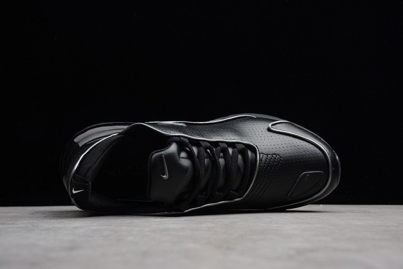 official photos e7342 29c89 Nike Air Max 270 Flyknit Triple Black Charcoal Breathable Lightweight  AH8060-002