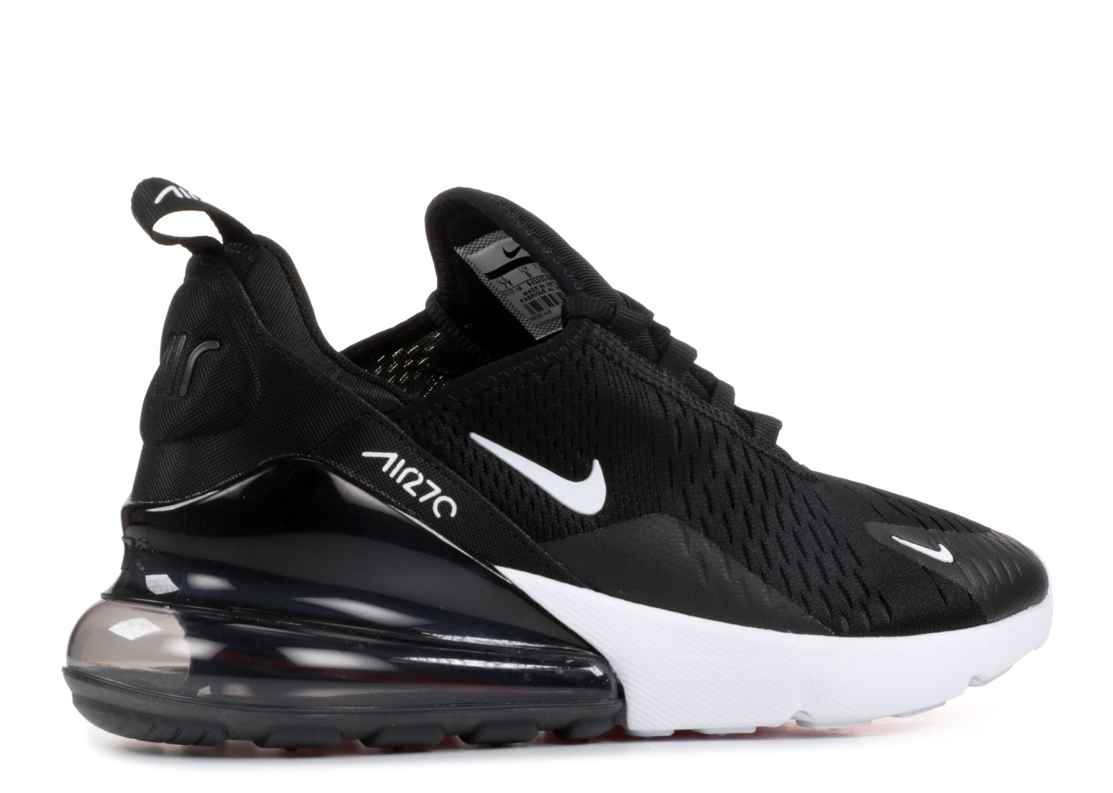 Nike Air Max 270 Gs White Black Anthracite 943345 001