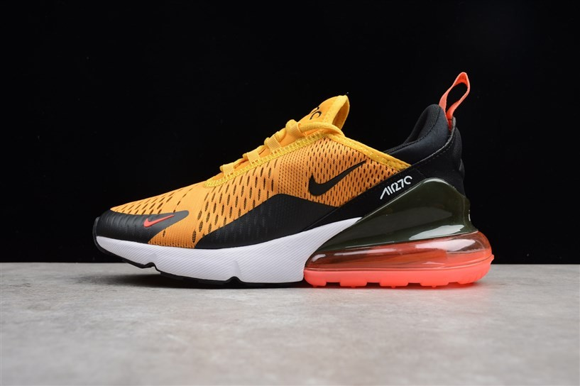 low priced c03ee c0d44 Prev Nike Air Max 270 Yellow Black Small Swoosh AH8050-004. Zoom