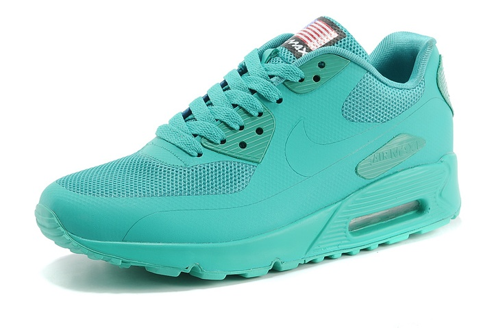Nike Air Max 90 Hyperfuse QS Apple Green July 4TH Independence Day 613841 330