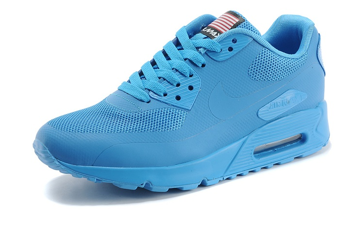 Nike Air Max 90 Hyperfuse QS Lake Blue July 4TH Independence Day 613841 550