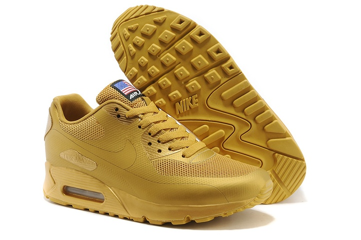 big sale 20fc6 d90a2 Prev Nike Air Max 90 Hyperfuse QS Sport USA All Metallic Gold July 4TH  Independence Day 613841. Zoom