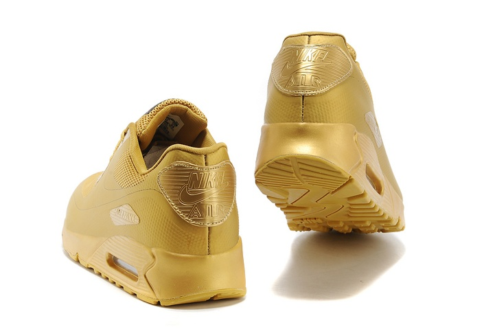 dd97236720fe ... Nike Air Max 90 Hyperfuse QS Sport USA All Metallic Gold July 4TH  Independence Day 613841