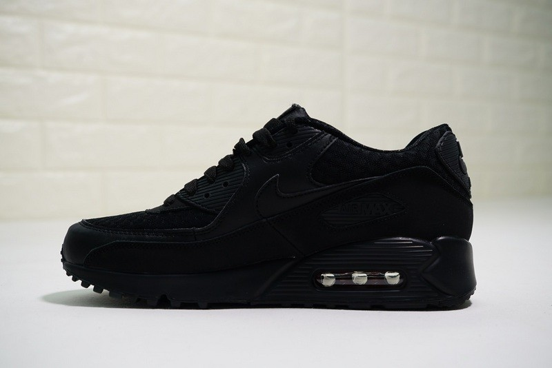 promo code 1685e 7fe07 Prev Nike Air Max 90 Essential Triple Black Casual Sneakers 537384-084