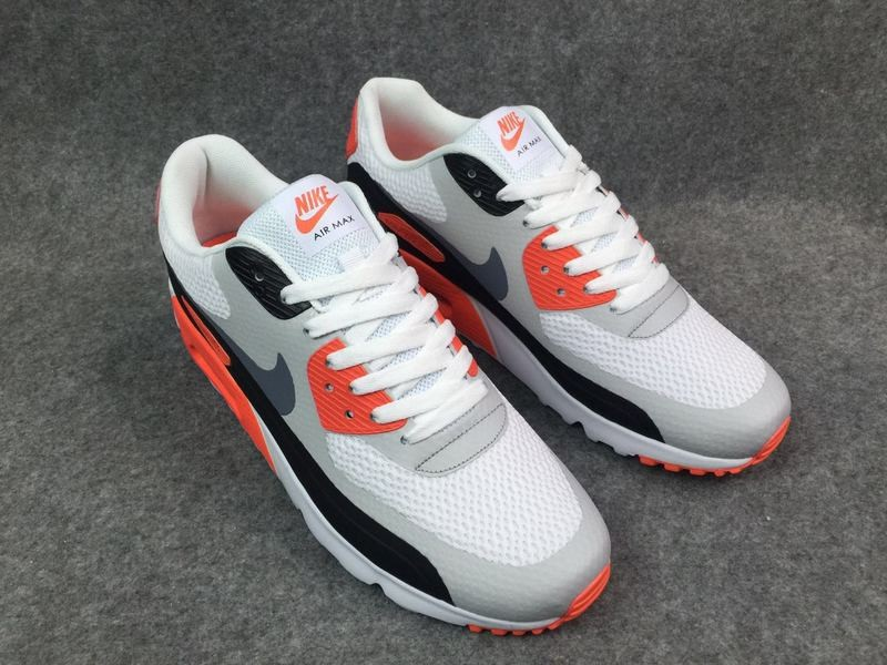 pretty nice 7f7c1 ee160 Nike Air Max 90 Ultra 2.0 Essential Grey White Red Classic 819474-106