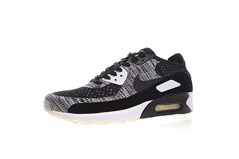 on sale f68be 8fadd Nike Air Max 90 Ultra 2.0 Flyknit Oreo White Black 875943-001