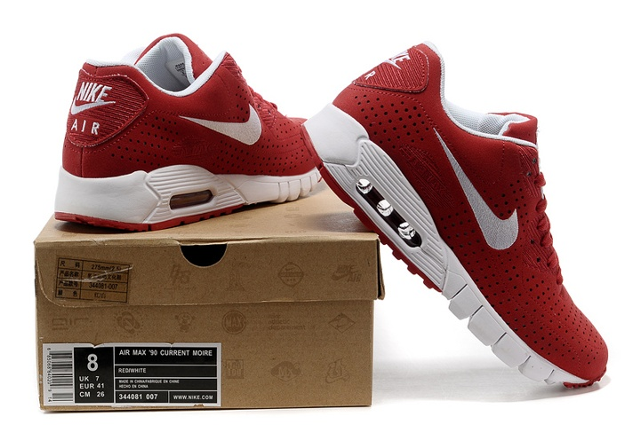Nike Air Max 90 Current Moire Sport Red 344081 600