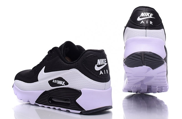 Nike Air Max 90 Ultra Moire Black White Men Running Shoes Trainers 819477 011