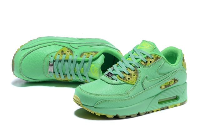 Nike Air Max 90 QS WMNS Womens Shoes Mint Green Yellow