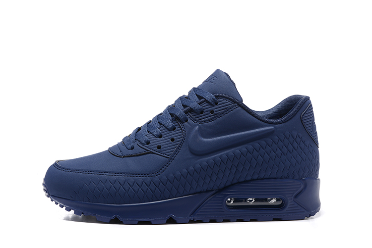 Nike Shoes Dame Nike Air Max 90 SkoFarge: blå Dame Nike Air Max 90 Sko Color: Blue