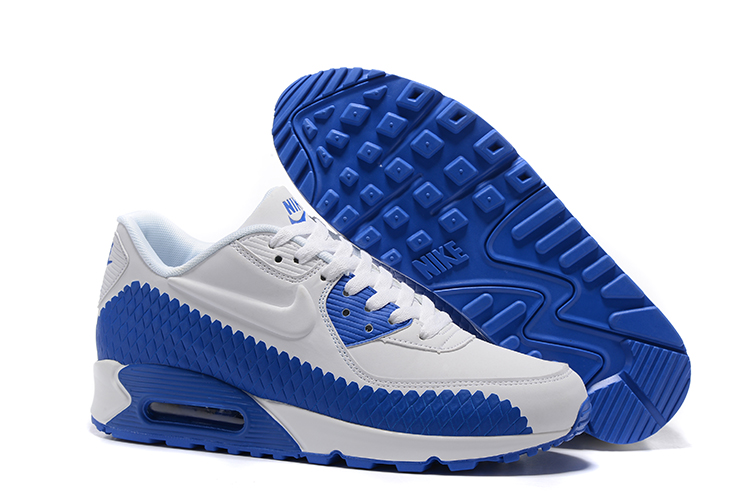finest selection cca60 0ec3c Prev Nike Air Max 90 Woven Men Training Running Shoes Navy Blue White 833129 -006