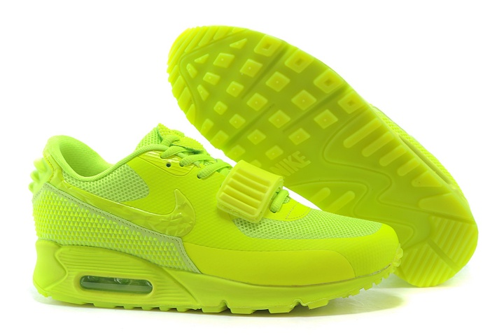 ccdcb0667d011 Nike Air Max 90 Air Yeezy 2 SP Casual Shoes Lifestyle Sneakers Flu ...