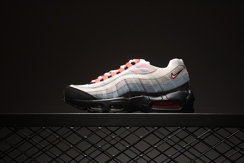 f4e88db660 Prev Nike Air Max 95 Mens Trainers White Solar Red Neutral Grey 609048-106