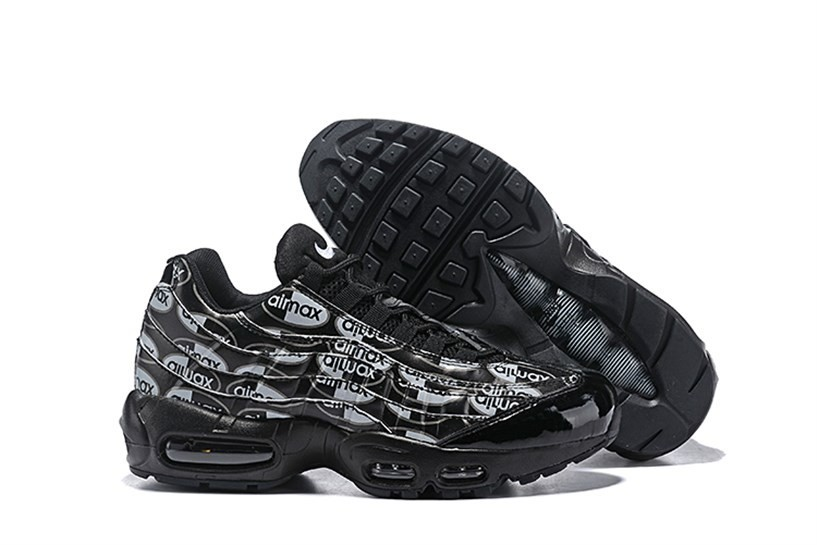 new concept c9e1d 557c2 Prev Nike Air Max 95 PRM Men Running Shoes Black White 538416-017