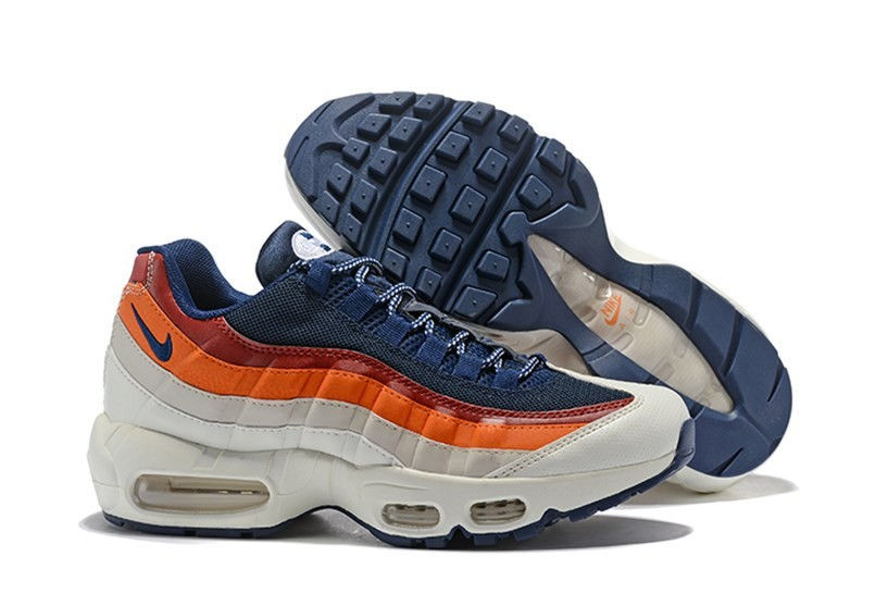 the latest ca758 5c479 Prev Nike Air Max 95 Essential Unisex Running Blue Orange 749766-108. Zoom