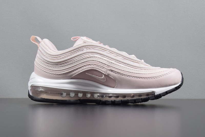 """Nike Air Max 97 Womens """"Barely Rose"""" Running Shoes 921733 600 Pink White Best"""