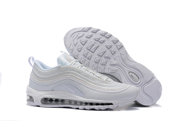 info for 273eb c68f4 Prev Nike Air Max 97 Pure White Silver Men Running Shoes Sneakers Trainers  312641-004. Zoom