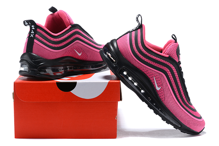 dd170d1f1505 Nike Air Max 97 Running Women Shoes Rose Red Black - Sepsport