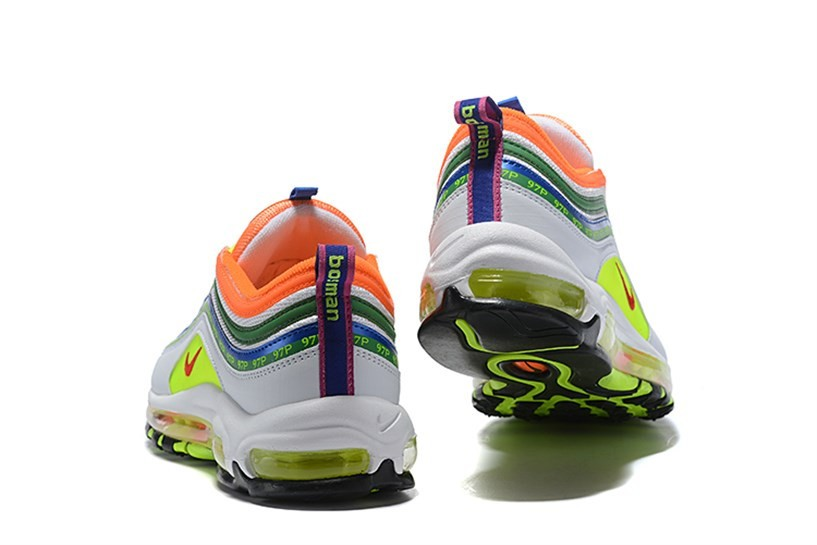 Nike Air Max 97 SE White Green Orange Lemon AJ1986 401