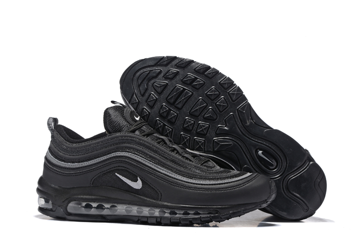 huge discount 2398a 1ae79 Prev Nike Air Max 97 Silver Pure Black Men Running Shoes Sneakers Trainers  312641-091. Zoom