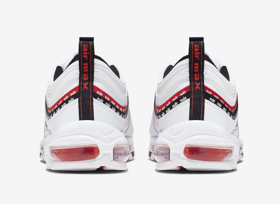 Nike Air Max 97 White University Red Black CK9397 100