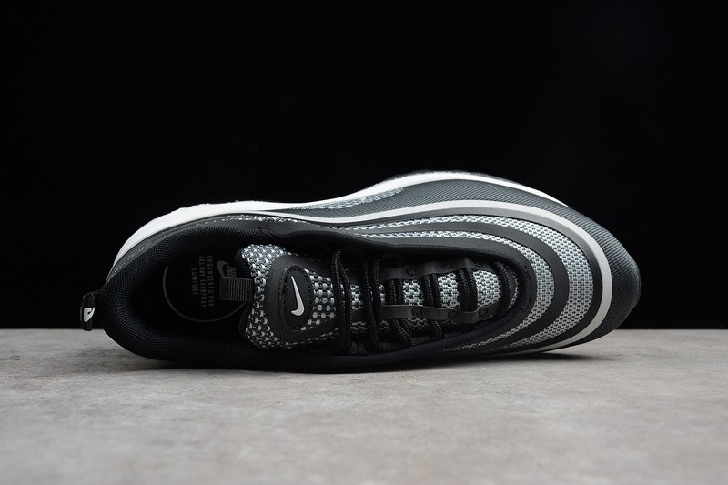 Nike Air Max 97 Ultra Black White Breathable Casual 918356 001