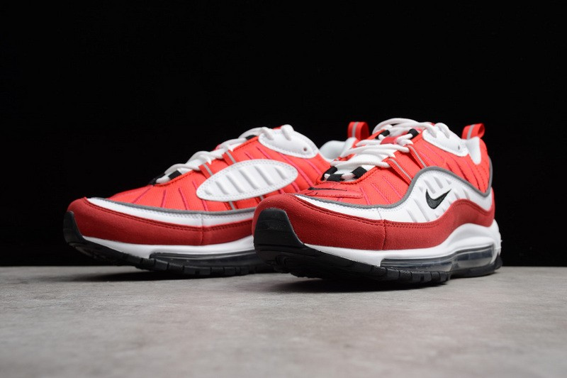 air max 98 white and red