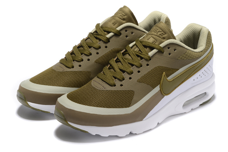 Nike Air Max BW Ultra Men Running Shoes Sneakers Army Green White 819475 300