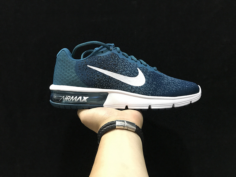 Nike Air Max Sequent 2 Running Shoe Legion Blue White 852461
