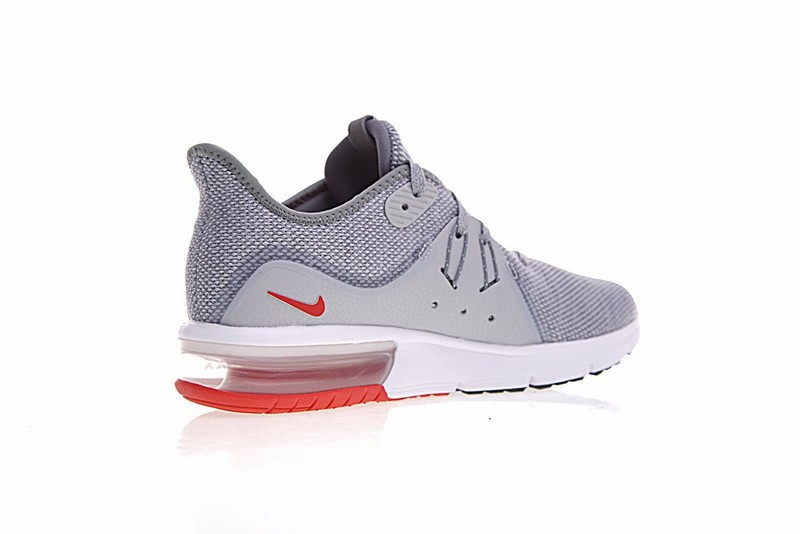 Nike Air Max Sequent 3 Cool Grey Red