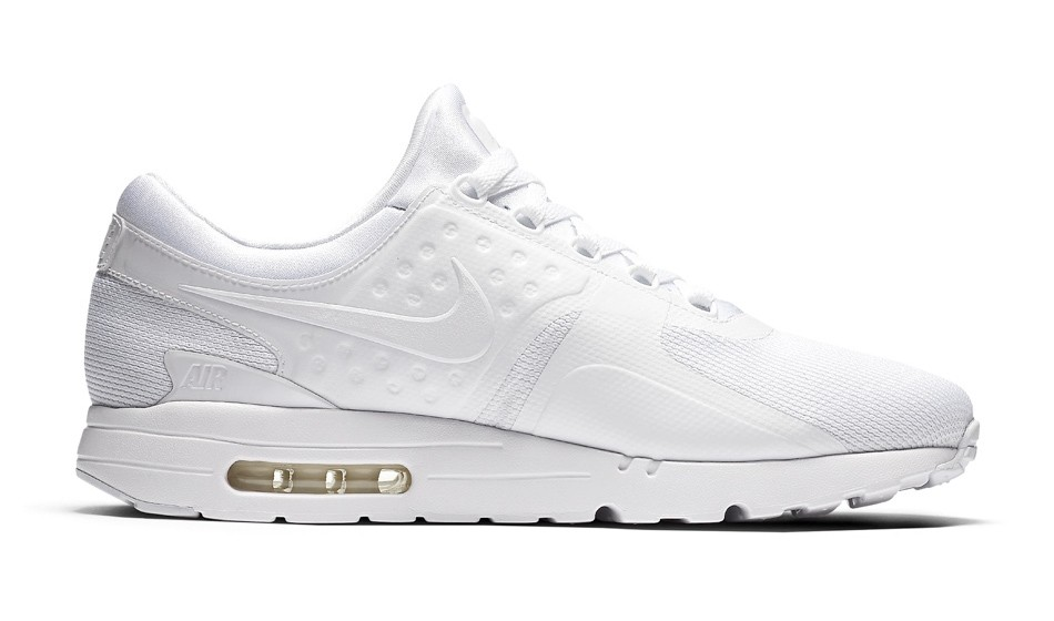 Nike Air Max Zero Triple White Wolf Grey Pure Platinum 876070 100